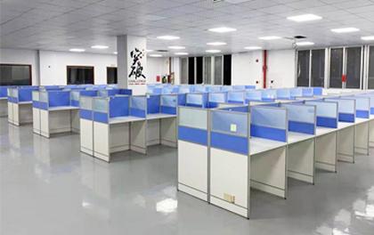合步二手办公家具安装服务案例——龙华陈小姐