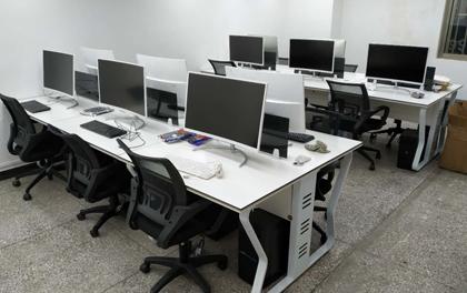 合步二手办公家具安装服务案例——福田车公庙潘先生