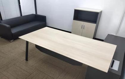 合步二手办公家具安装服务案例——兴东刘小姐