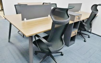合步二手办公家具安装服务案例——南山张总