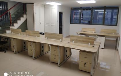 合步二手办公家具安装服务案例——龙岗黄小姐