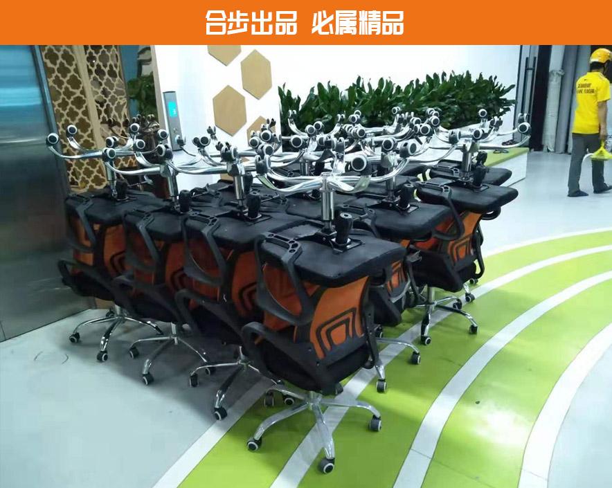 电脑椅网布会议办公椅弓形职员椅员工靠背椅