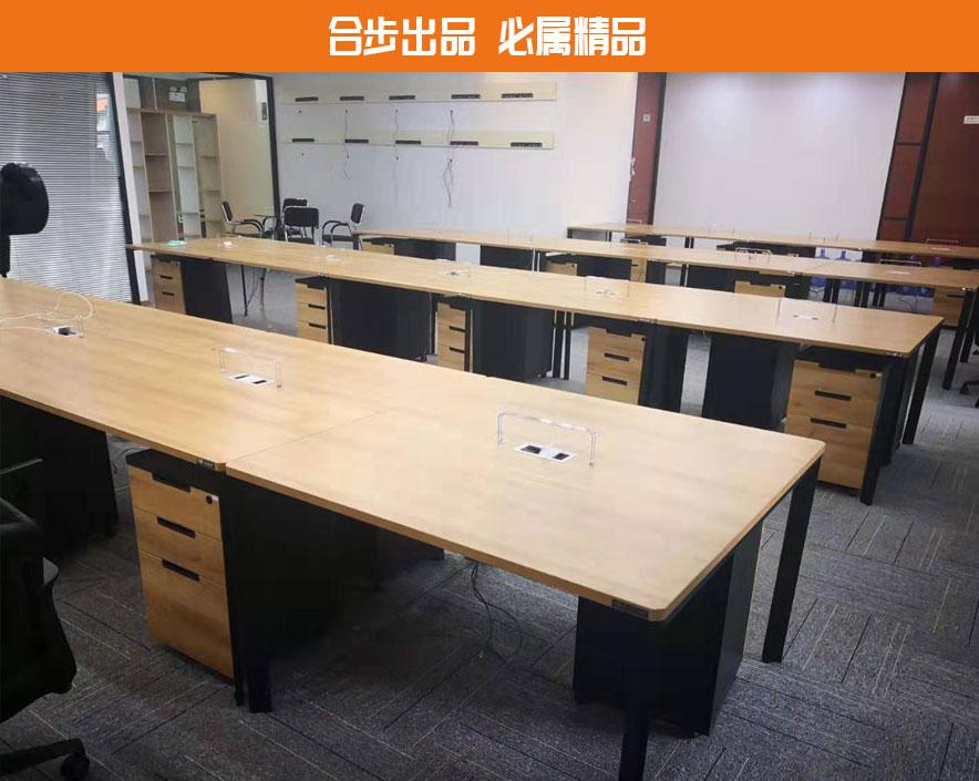办公桌简约职员电脑办公桌员工卡位办公家具