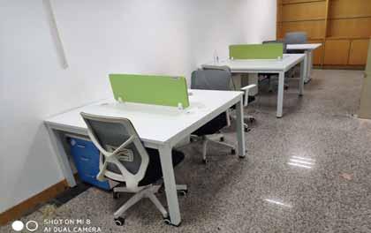 合步二手办公家具安装服务案例——福田余先生