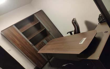 合步二手办公家具安装服务案例——福田杨先生