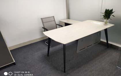 合步二手办公家具安装服务案例——公明戴先生
