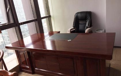合步二手办公家具安装服务案例——福田廖先生