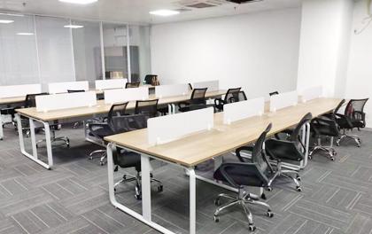 合步二手办公家具安装服务案例——南山虚拟大学园 韩小姐