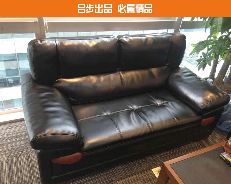 合步二手办公家具网,二手办公沙发,皮革沙发,接待沙发