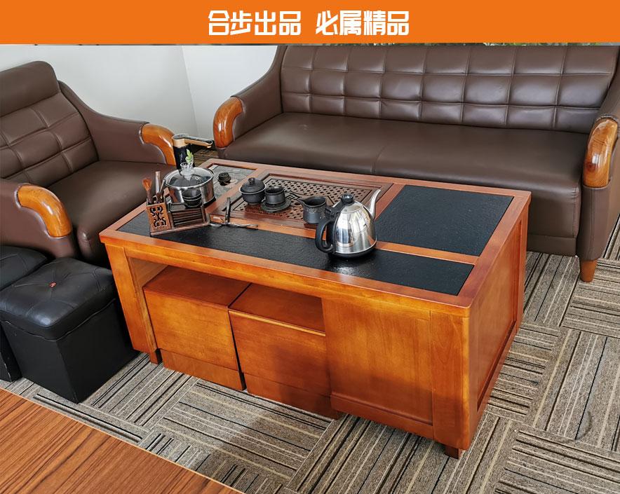 合步二手办公家具网,二手办公茶几,洽谈茶台,二手会客桌,二手家具,茶台,茶几,中式茶台,茶台组合