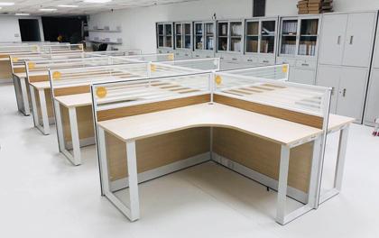 合步二手办公家具安装服务案例——福田林女士