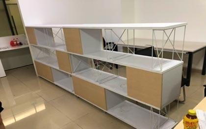 合步二手办公家具安装服务案例——龙岗方先生