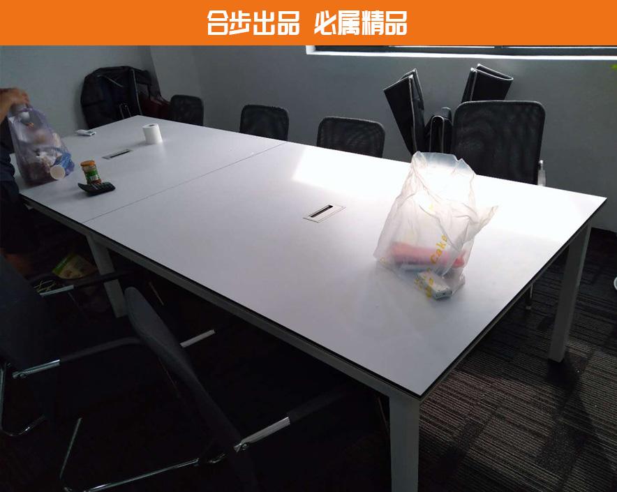 会议桌简约现代长方形洽谈桌开会桌办公家具长桌