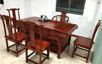 合步二手办公家具安装服务案例——宝安沙井罗先生