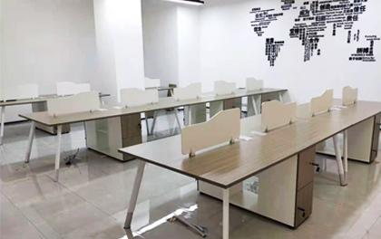 合步二手办公家具安装服务案例——西乡赵先生