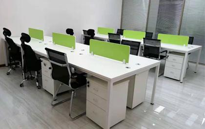合步二手办公家具安装服务案例——福田朱先生