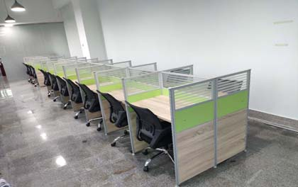 合步二手办公家具安装服务案例——观澜安先生